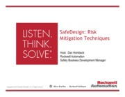 SafeDesignRiskMitigationTechniquesOverviewFinal
