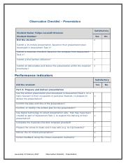Observation Checklist - Facilitate.docx