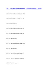 ACC 317 Advanced Federal Taxation Entire Course.docx