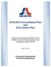 Consolidated Plan and Action Plan, 5-19