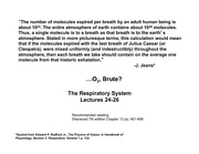 Respiratory system lectures 24-26 w2012 FINAL