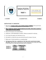 Test 1 -Questions-
