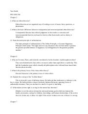 Ethics Chap 5-7 questions