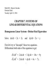 Math 260 - 7. SYSTEMS OF LINEAR ODEs.pdf