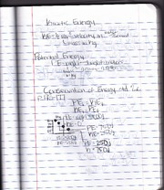 Notes on Kinetic Energy