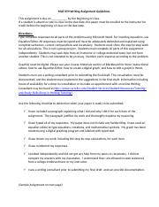 MAT 099 Writing Assignment Guidelines.docx