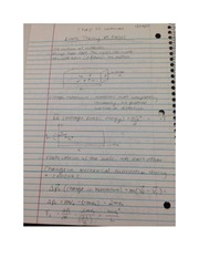 PHYS Kinetic Theory of Gases Notes