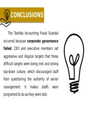 Toshiba Accounting Scandal (How corporate governance failed) C1.pptx