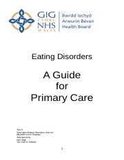 Eating Disorders A Guide for Primary Care.doc