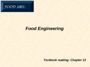 11. Food Engineering