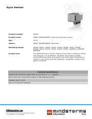 45505 Gyro Sensor product sheet.pdf