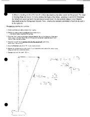 Vector Diagram Short Answer Questions