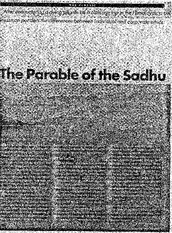 Parabel of the sadhu