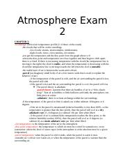 Atmosphere Exam 2.docx