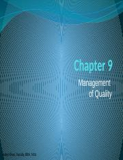 Ch9- Mangement of Quality.pptx