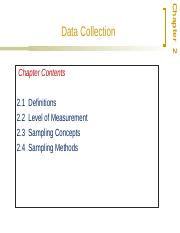 Ch2 Data Collection