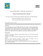 Experiment 8 formal written report