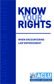 Know your rights - Rights at airports and other ports of entry into the United States