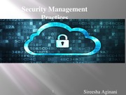 Security Management Practices_ITM5600 4th Week