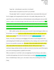 Dalton VanPelt - Death of a Salesman Essays.docx