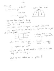 CHE 170 Electric Field Line Notes
