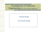 softwareDesign