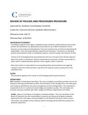 Review of Policies and Procedures Procedure.pdf