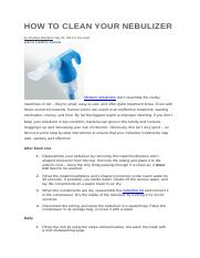 HOW TO CLEAN YOUR NEBULIZER.docx
