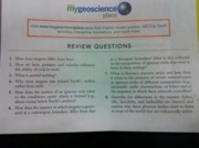 Review questions (For chapter 6 to 9)