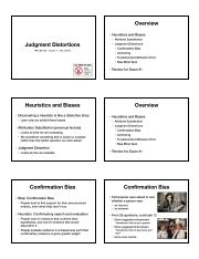 Lecture 7 - Judgment Distortions handout.pdf