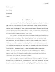 the storm setting essay e santana emilio santana mrs mueller  3 pages the storm setting essay