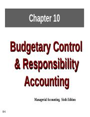 BAB 2024 CH10_Budgetary Control and Responsibility Accounting.ppt