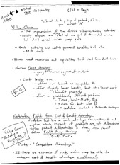 class notes- strategic positioning for competitive advancement
