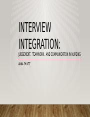 interview integration powerpoint.pptx