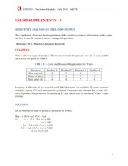 Supplement - Computer and Sensitivity Analysis - 2015