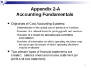 Appendix 2-A Accounting Fundamentals