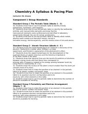 Chemistry  A  Syllabus Code of Conduct Contract.doc