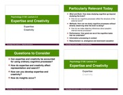 L3.4 - Expertise and Creativity (Aug-10)