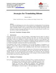 Strategies for Translating Idioms.pdf