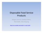 Disposable+Food+Service+Products