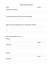 MMW2QuestionWorksheet2011