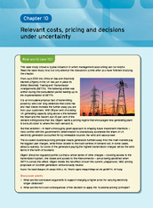 Chapter 10  Relevant Costs, Pricing And Decisions Under Uncertainty