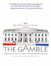 The gamble _ choice and chance in the 2012 presidential election-Princeton University Press (2013).p