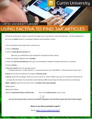 Using Factiva to find tax articles HANDOUT.pptx