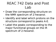 3611L-REAC 742-IR and NMR