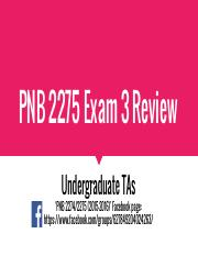 PNB 2275 Exam 3 Review (2016).pdf