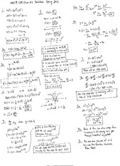 Exam B Solutions on Calculus and Analytic Geometry