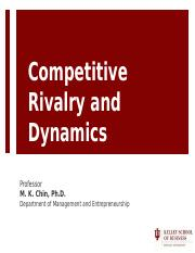 5 Competitive Dynamics