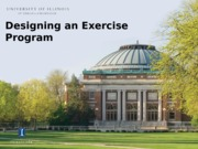 Lecture 5 -Designing Exercise Programs_student