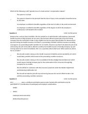 Quiz Employment Agreement 13
